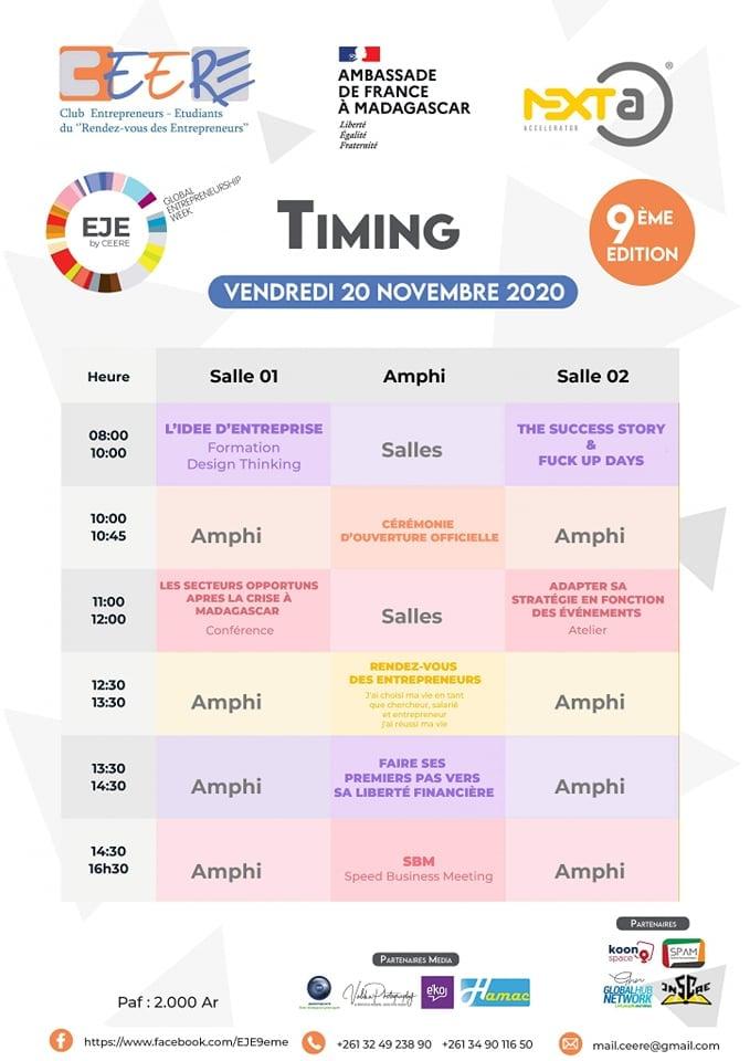 Timing-Espace-Jeune-Entrepreneur-9eme-edition-Madagascar